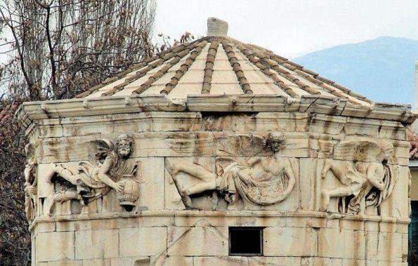 Башня Ветров отличная достопримечательность Греции