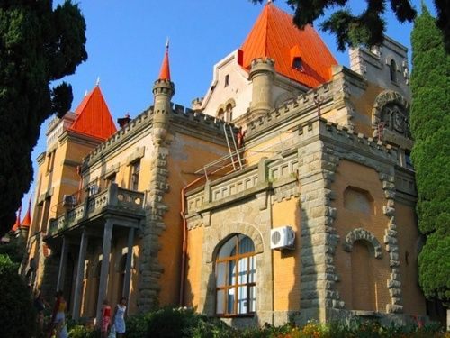 Замок на мысе Плака